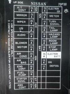 Porta fusibles y Base de cornetas delanteras 44244810