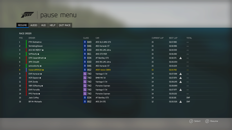 British GT eSports Championship: SIGN IN & LIVE TIMING - Page 5 Sparac10