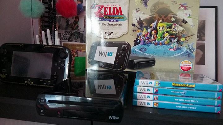 [EST] Console Wii U Edition Zelda 32 go Noire Complet en boîte + Jeux 21325510