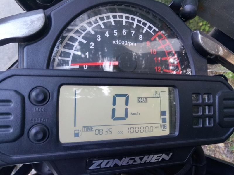 Мой первый мотоцикл... Zongshen RX3 - Страница 3 P7092110