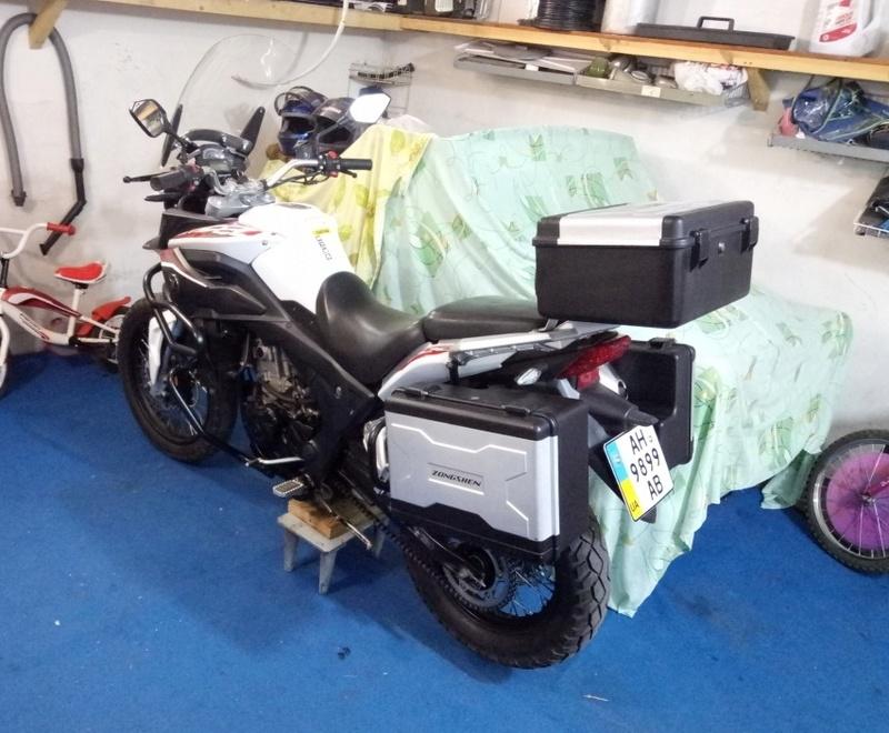 Мой первый мотоцикл... Zongshen RX3 - Страница 3 P7100812