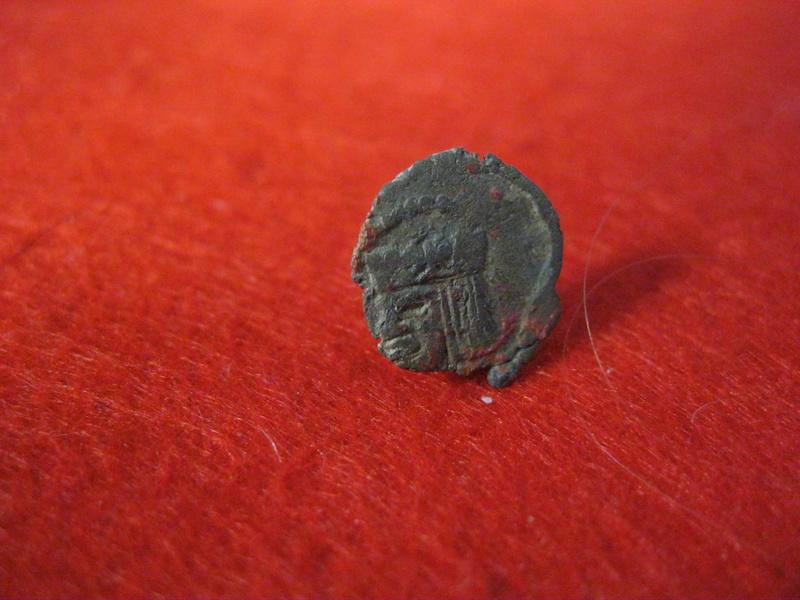 Dinerillo de Felipe III. Ceca Aragón  Mediev10