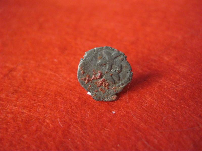 Dinerillo de Felipe III. Ceca Aragón  Mediev11