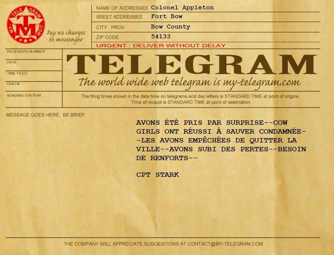 Campagne Dead Man's Hand - Les cousines d'en face Telegr10