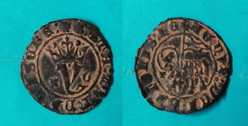 Blanco del Agnus Dei de Juan I de Castilla 1379-1390 Toledo. Img_2017