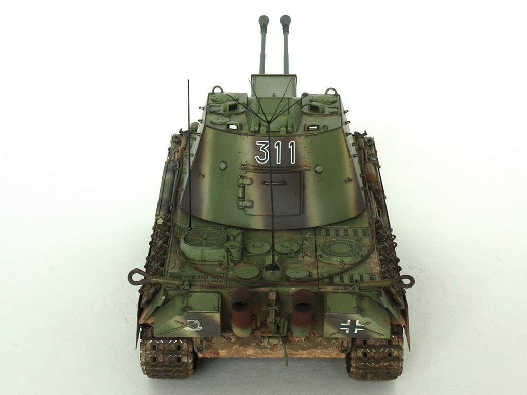 5,5 cm Zwilling Flakpanzer mit Panther Fahrgestell (Rheinmetall turm) (конверсия Dragon+Trumpeter 1/35) B_411