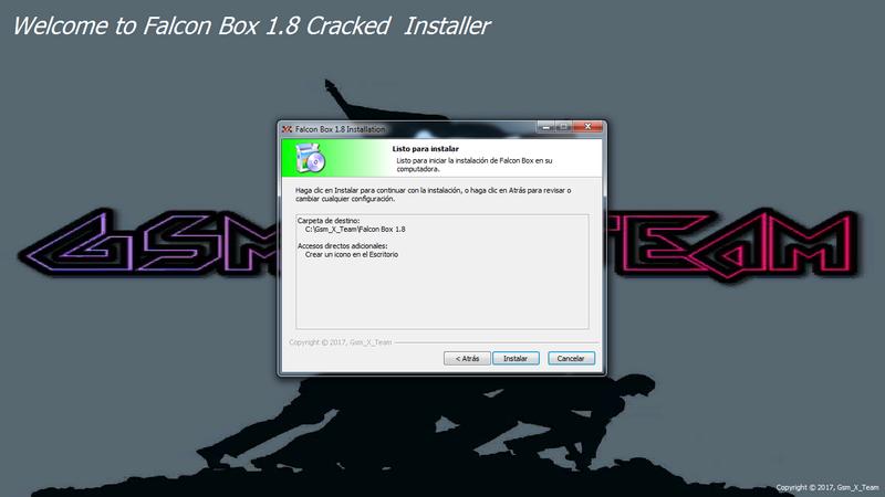 Falcon Box Crack V1.8. metodo mas facil de instalar y con mas modulos para trabajar 710