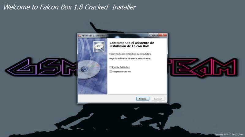 Falcon Box Crack V1.8. metodo mas facil de instalar y con mas modulos para trabajar 810