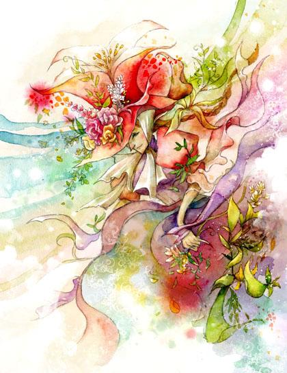 Цветочные феи и  другие элементалы 11238510