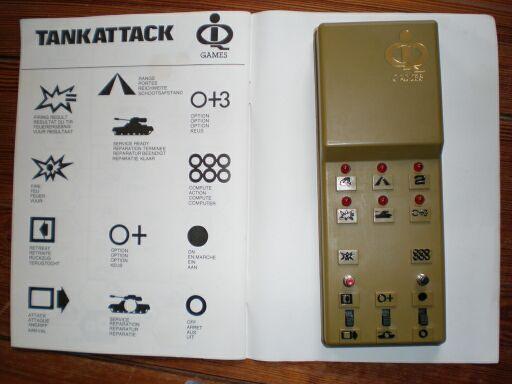 Приложение к заметкам о простых играх (полукомпьютерная игра TANKTICS, 1978) 4i610