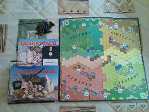 Приложение к заметкам о простых играх (полукомпьютерная игра TANKTICS, 1978) Tankat10