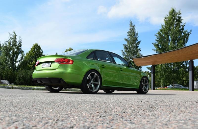 Java vihreä Audi A4 B8 3.0tdi 20170714