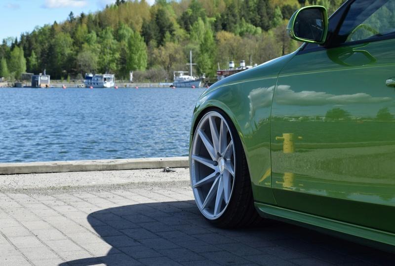Java vihreä Audi A4 B8 3.0tdi 20170715