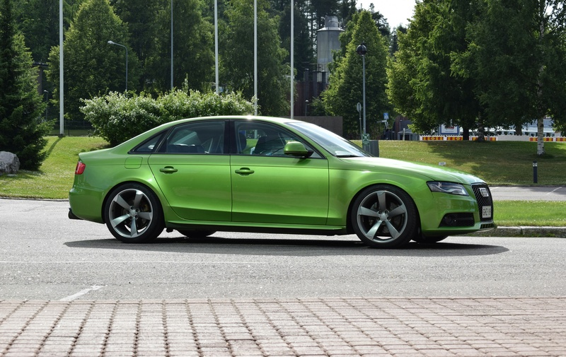 Java vihreä Audi A4 B8 3.0tdi 20170716