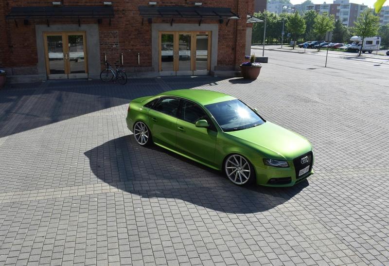Java vihreä Audi A4 B8 3.0tdi 20170717