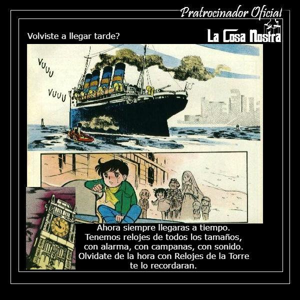 LOS TRABAJOS DE HOY ESTAN PATROCINADOS POR... An610