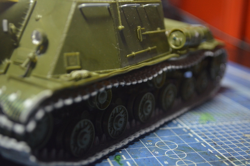 ИСУ-122 Звезда 1/35 Dsc_0210