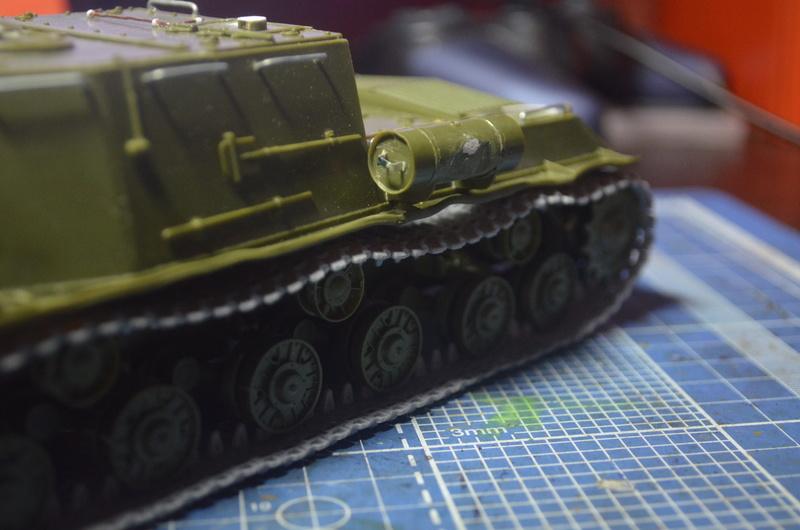 ИСУ-122 Звезда 1/35 Dsc_0211