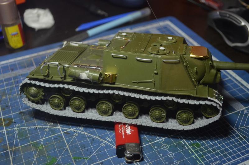 ИСУ-122 Звезда 1/35 Dsc_0212
