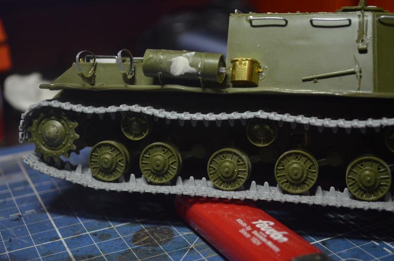 ИСУ-122 Звезда 1/35 Dsc_0213