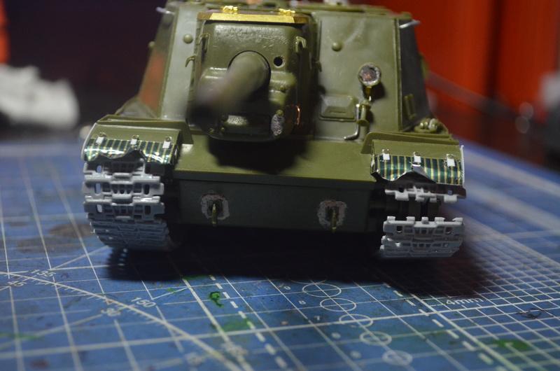 ИСУ-122 Звезда 1/35 Dsc_0214