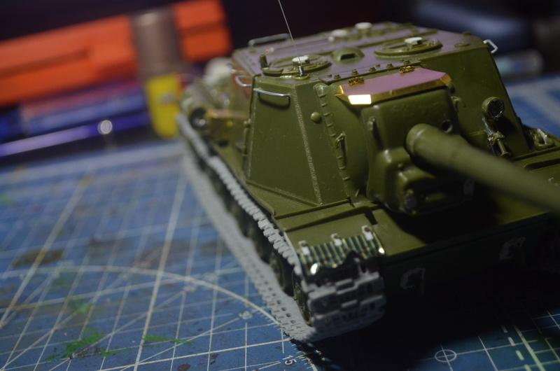 ИСУ-122 Звезда 1/35 Dsc_0216