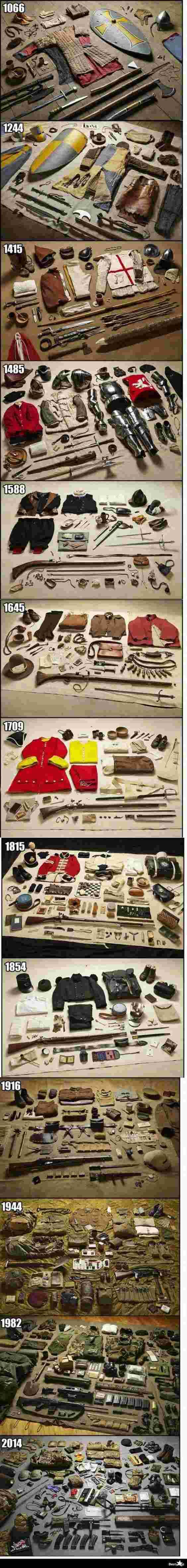 Evolution de l'équipement du soldat 31832110