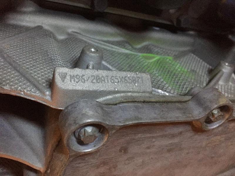 Numéro de moteur Boxster 986 2,7 de 2010 Numeir11