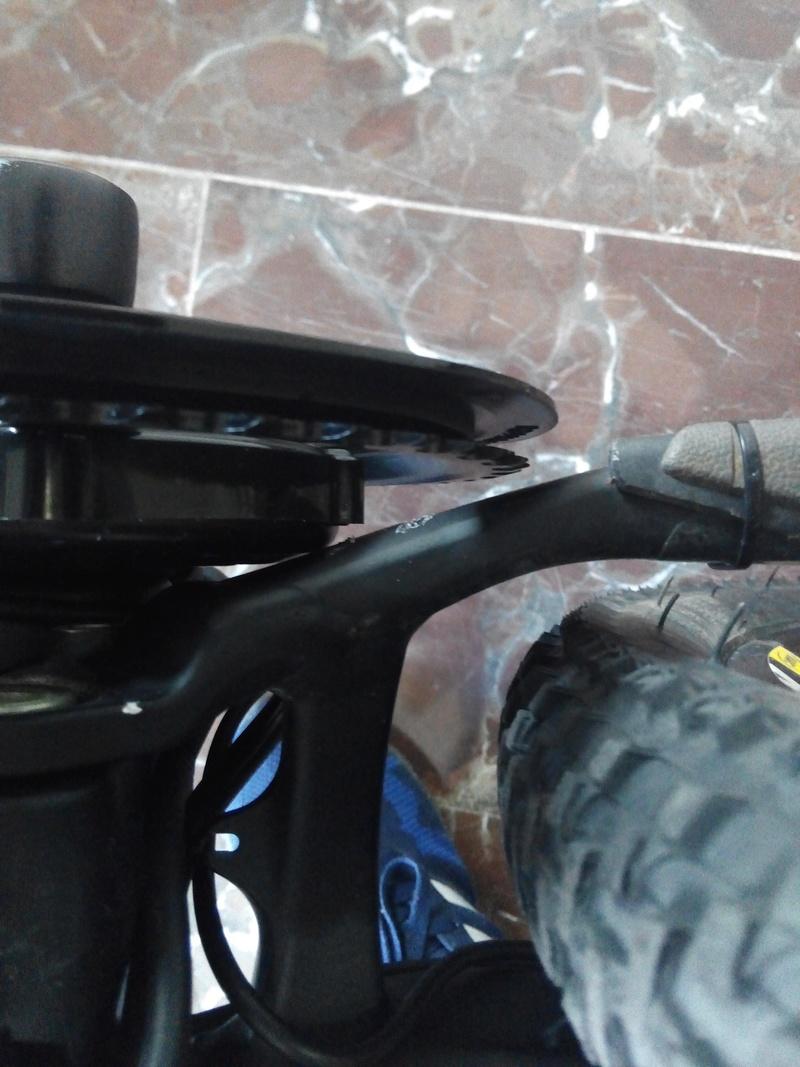 Bici para todo, doble suspensión, con Bafang central. Img_2011