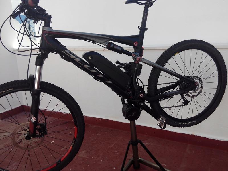 Bici para todo, doble suspensión, con Bafang central. Img_2014