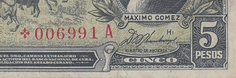 Billetes de reemplazo, no españoles 978_0010