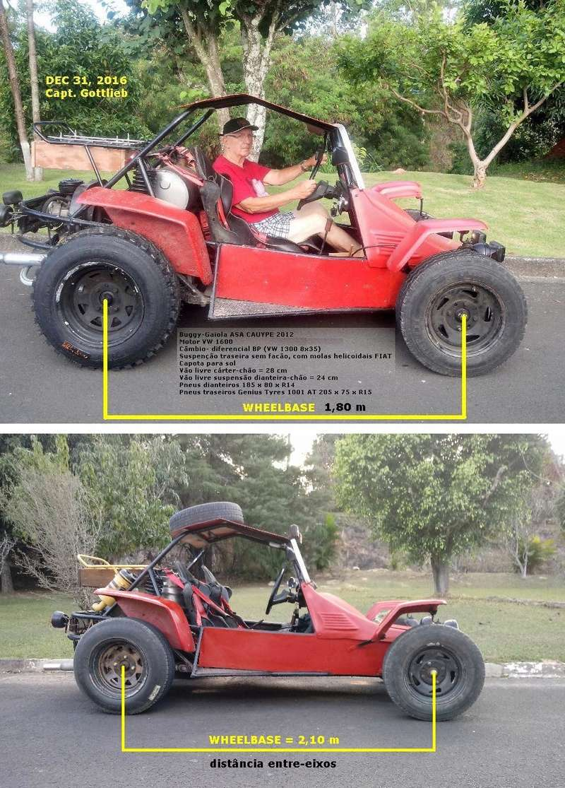 Buggy tipo Cronos Crotalus 2012 Chassi20