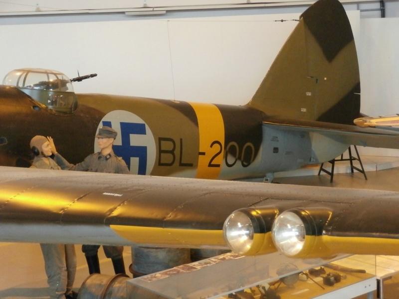 "Zrakoplovni muzej u Tikkakoskiju, ""Suomen Ilmavoimamuseo"" P8202811"