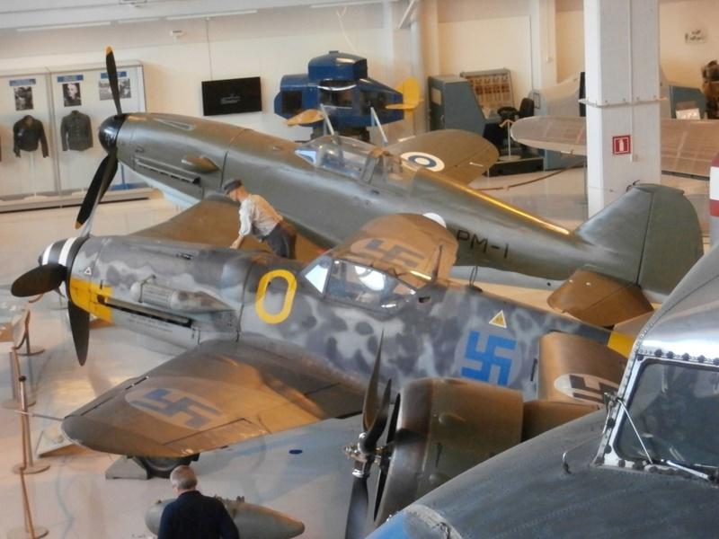 "Zrakoplovni muzej u Tikkakoskiju, ""Suomen Ilmavoimamuseo"" P8203011"