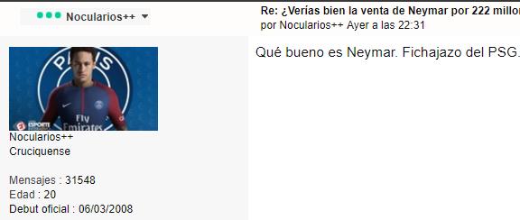 Post oficial: ¿En qué se gastará el Barça los 222 millones de Neymar? Porcol10