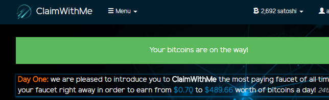 Claim with me 4coins10