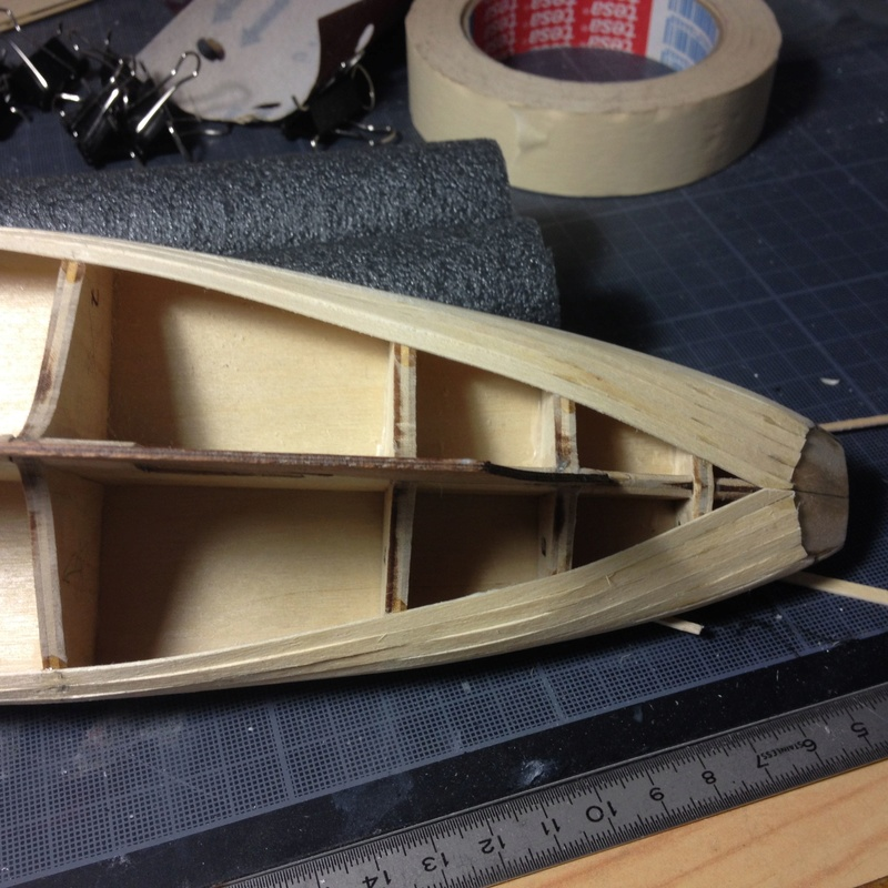 Mon 1er bateau bois: BLUENOSE 1/100° Coque_10