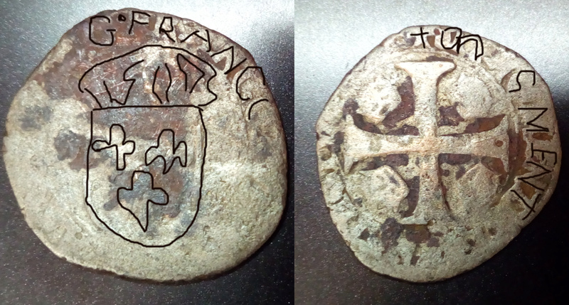 Medieval Francesa Moneda11