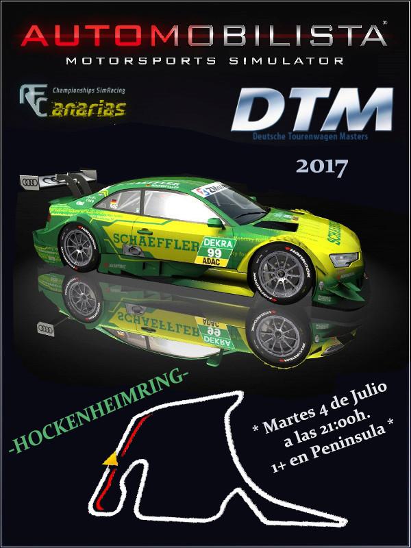 GP HOCKENHEIM DTM 2017 Aleman10