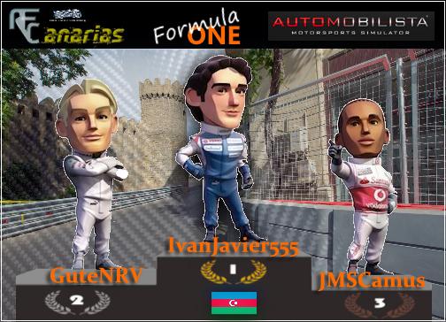 GP BAKU F1 2017 Podium10