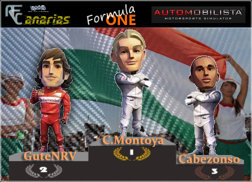 GP F1 HUNGRIA Podium17