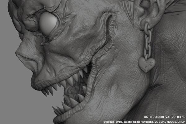 Oniri Créations : Death Note statue Ryuk_t10