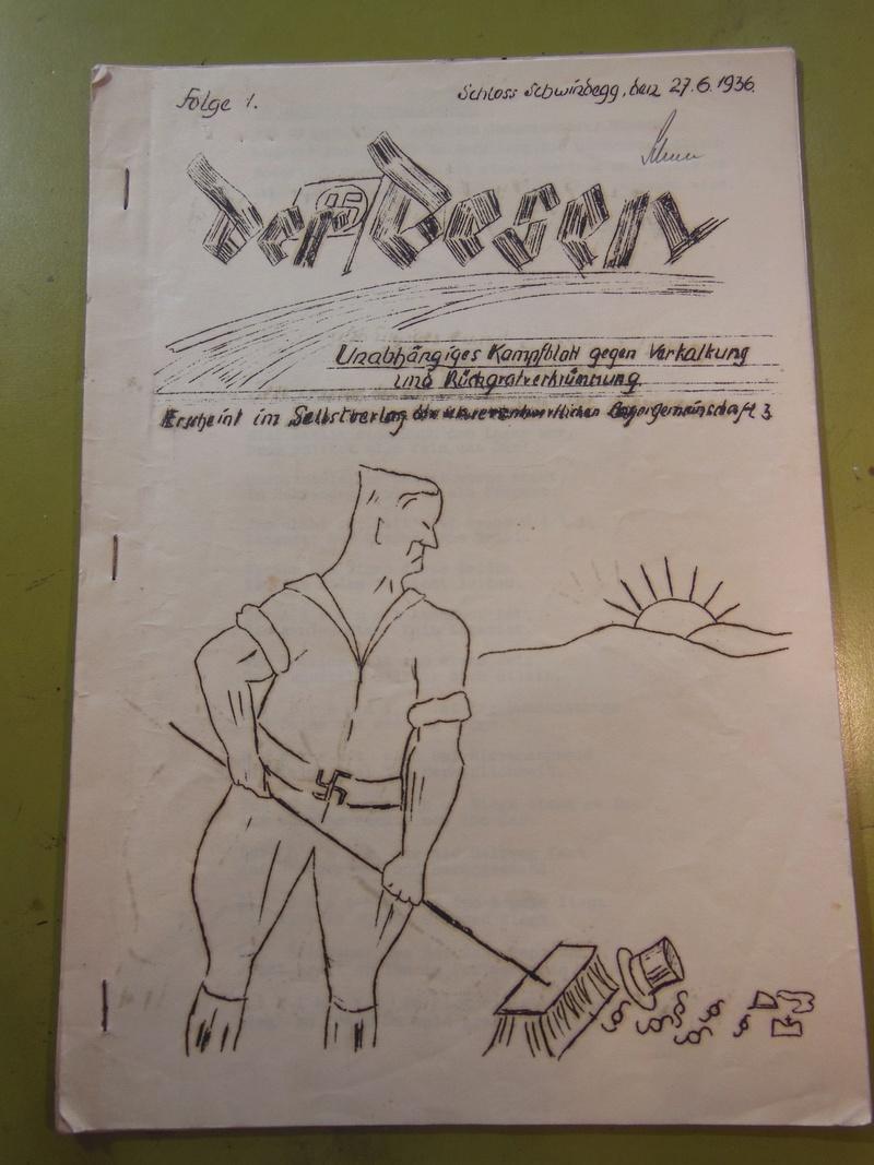 Journal Allemand daté 1936 Dscn2514