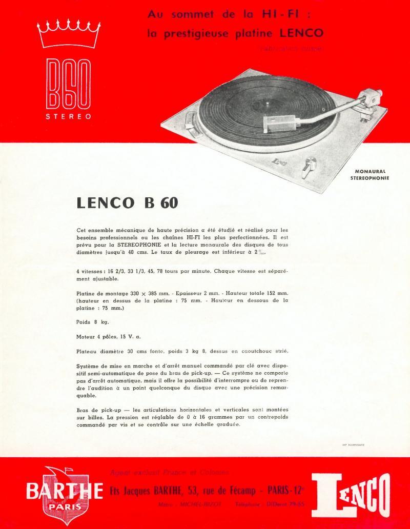 """Lenco B-60 (o início da saga - o """"Big Bang"""") Lenco-10"""