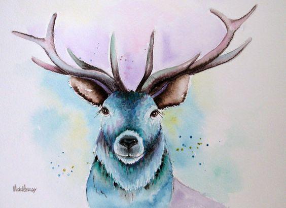 Les animaux peints à l'AQUARELLE - Page 10 09dbd410