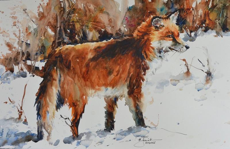 Les animaux peints à l'AQUARELLE - Page 9 20151s10