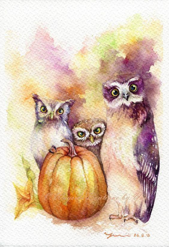 Les animaux peints à l'AQUARELLE - Page 10 5c144f10