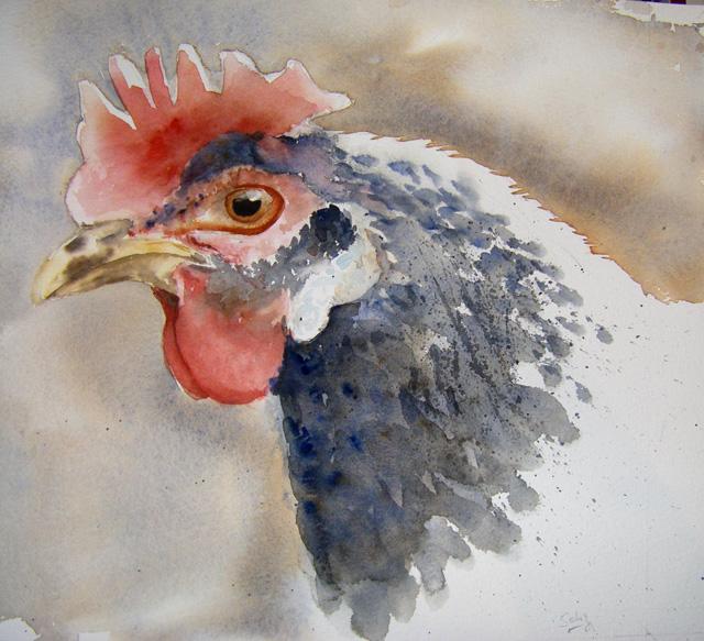 Les animaux peints à l'AQUARELLE - Page 8 Aquare10