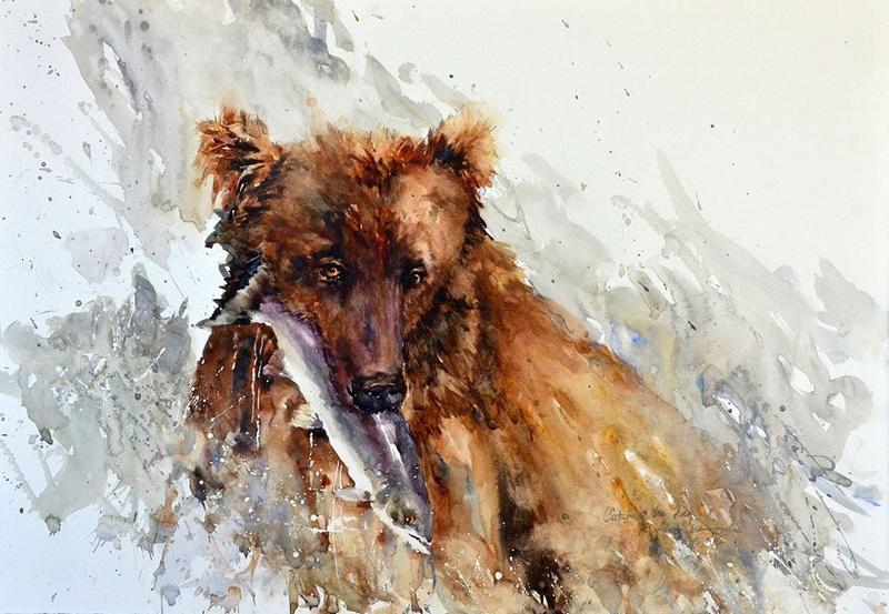 Les animaux peints à l'AQUARELLE - Page 8 Bev_jo10