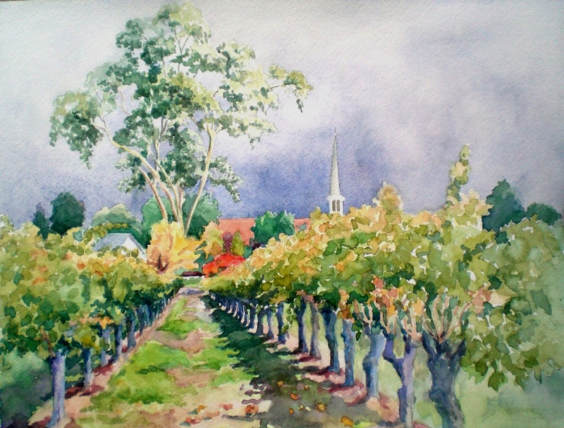Tous les paysages en peinture. - Page 9 Cimg4010